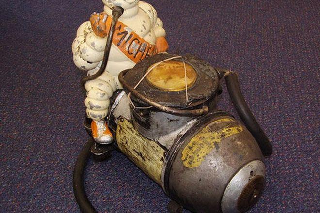 Compressor - Michelin Man (c.1930's) and copy of catalogue