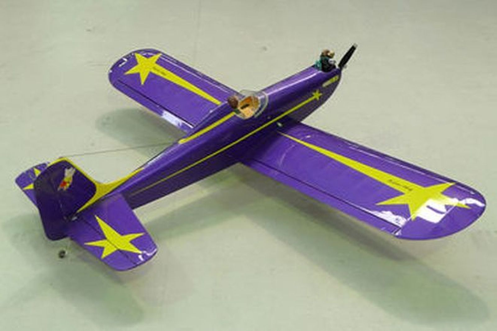 Model Plane - 1930's Replica Space Walker Astro Hog with engine & servos (6ft wingspan)