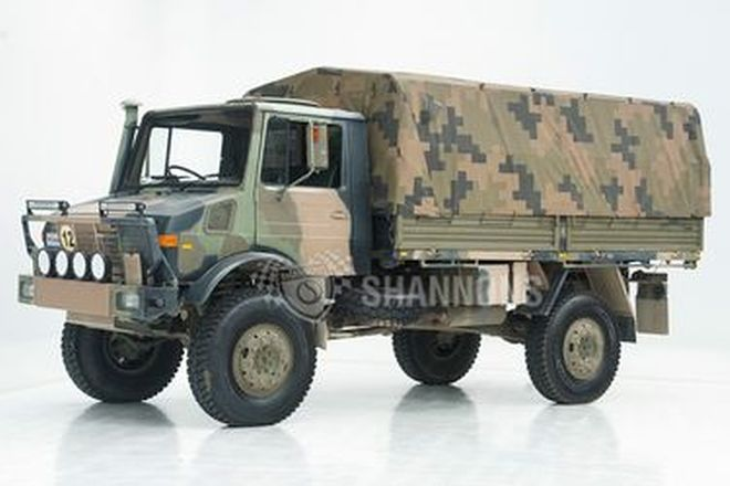 Mercedes-Benz 1700L Unimog 4x4 Tray Back