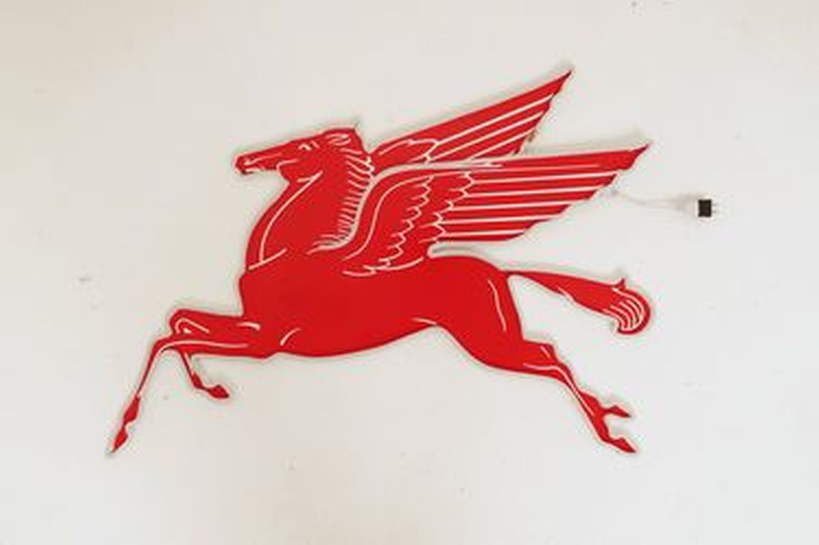 Neon Sign - Pegasus Flying Horse 240 volt (100 x 78cm)