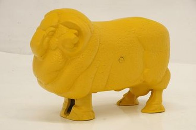 Golden Fleece Bowser Ram - (Cast) Reproduction
