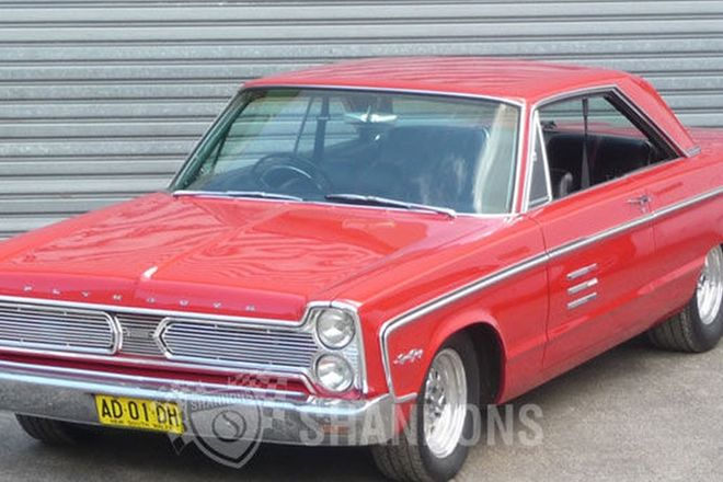 Plymouth Sport Fury Coupe 'Project' (RHD)