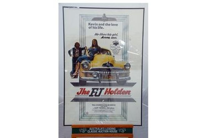 Framed Movie Poster - Original FJ Holden Movie Poster