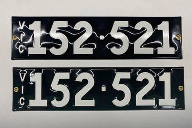 Victorian Heritage Plate 152.521