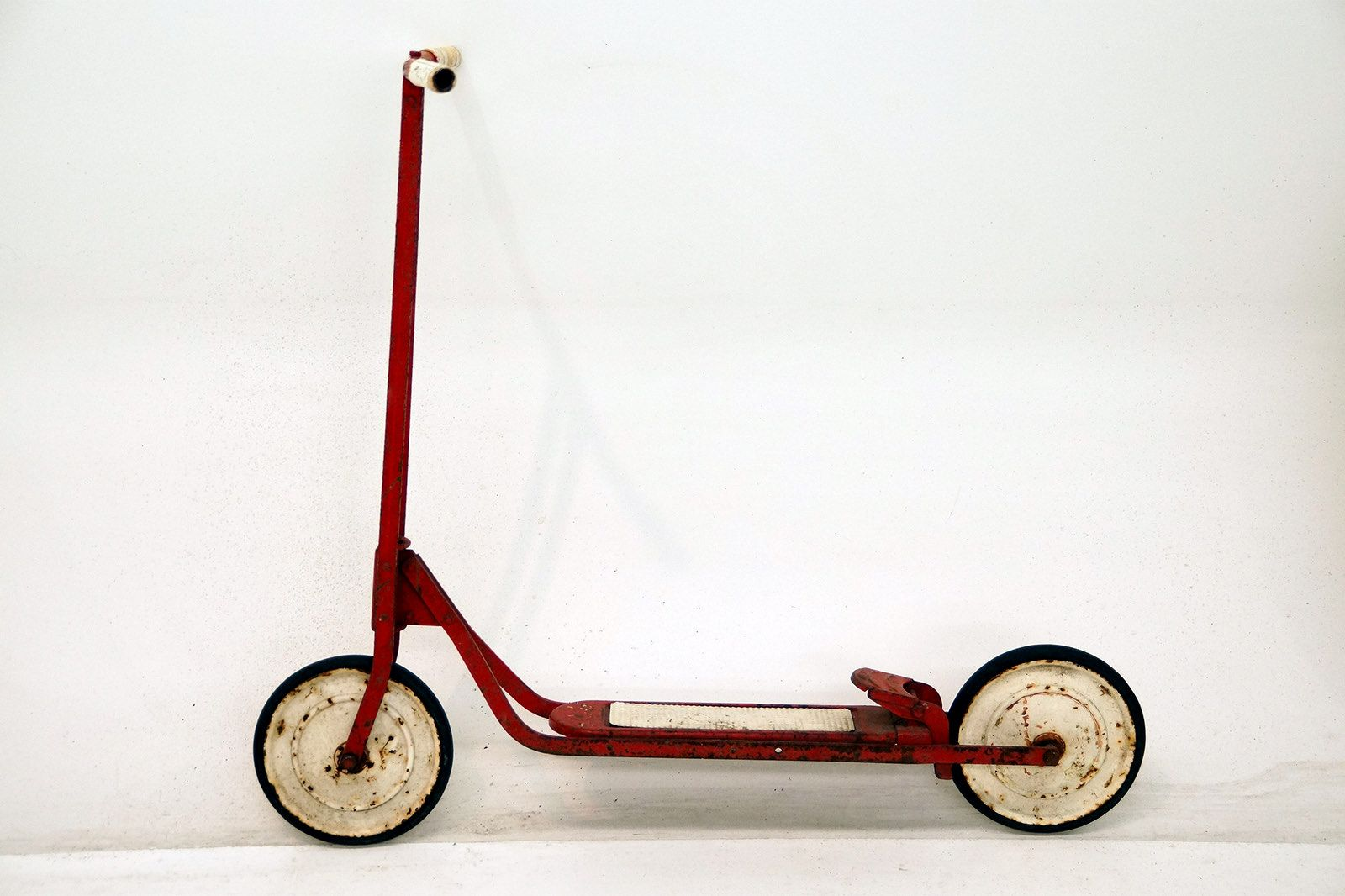 Vintage Child's Early Scooter
