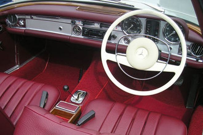 Mercedes-Benz 280SL Coupe/Convertible