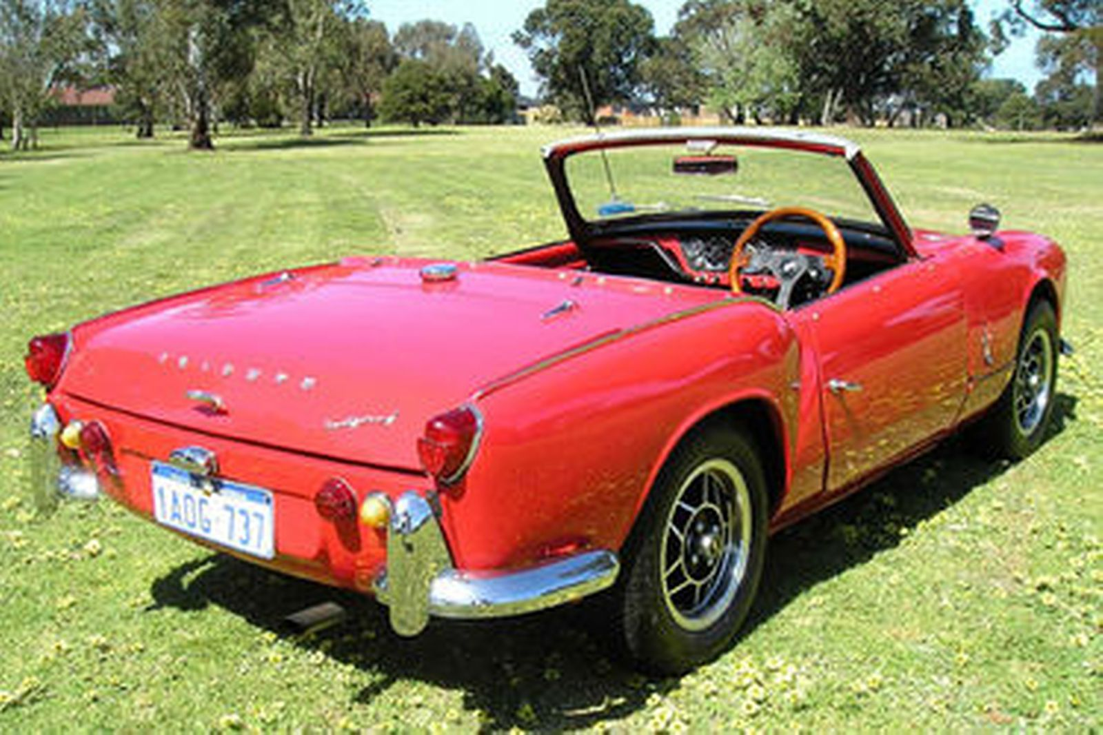 Sold  Triumph Spitfire Mk1 Roadster Auctions - Lot 1