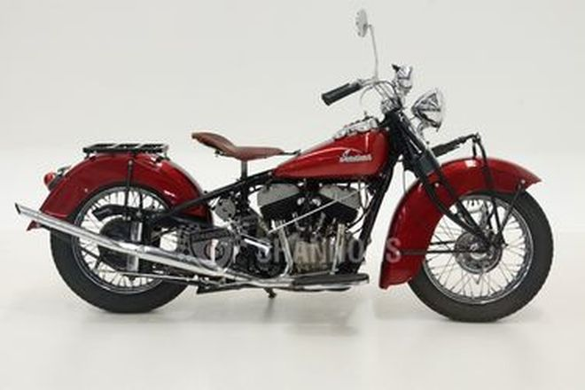 Indian Chief 1200cc V-Twin Solo Motorcycle