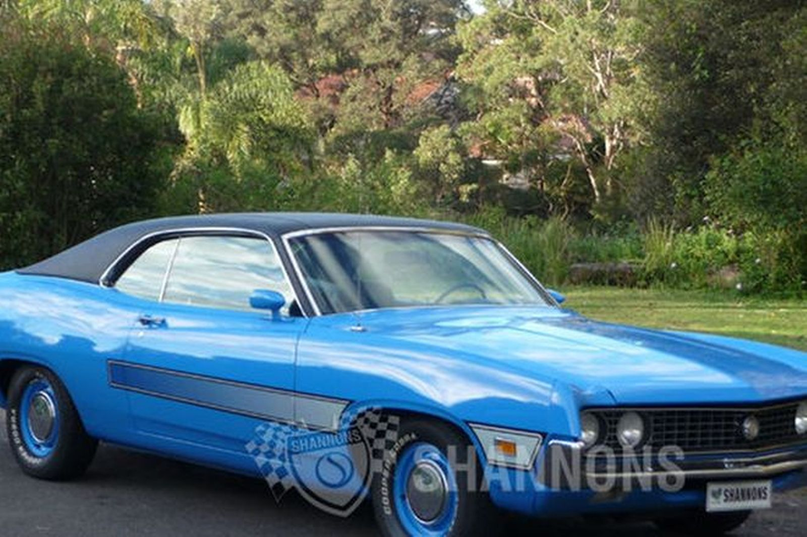 Ford torino 351 v8 coupe lhd