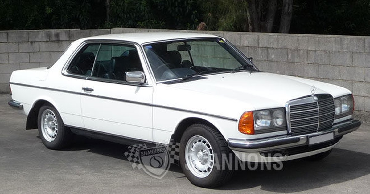 Sold mercedes benz 280ce coupe auctions lot 8 shannons for 1984 mercedes benz