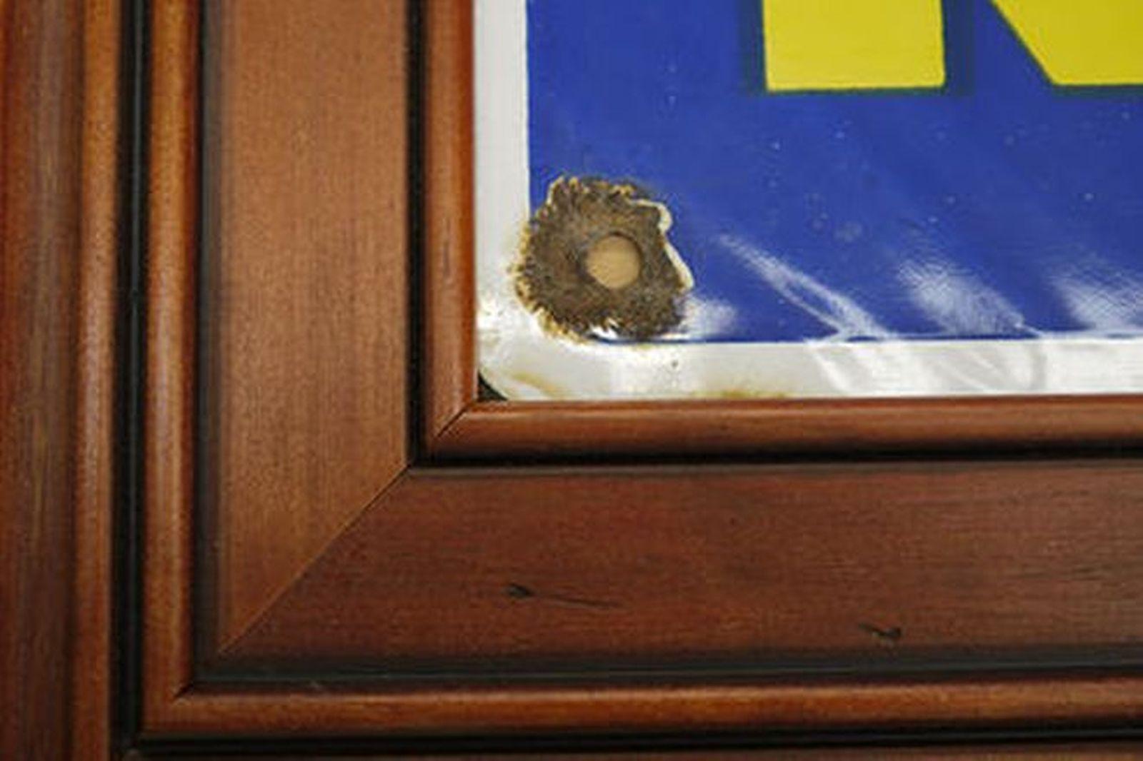 Enamel Sign -  Michelin (65 x 65cm) on wooden frame