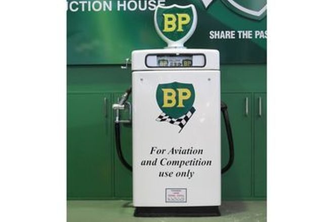 Petrol Pump - c1960's Wayne 605 Industrial in BP Livery with reproduction Globe