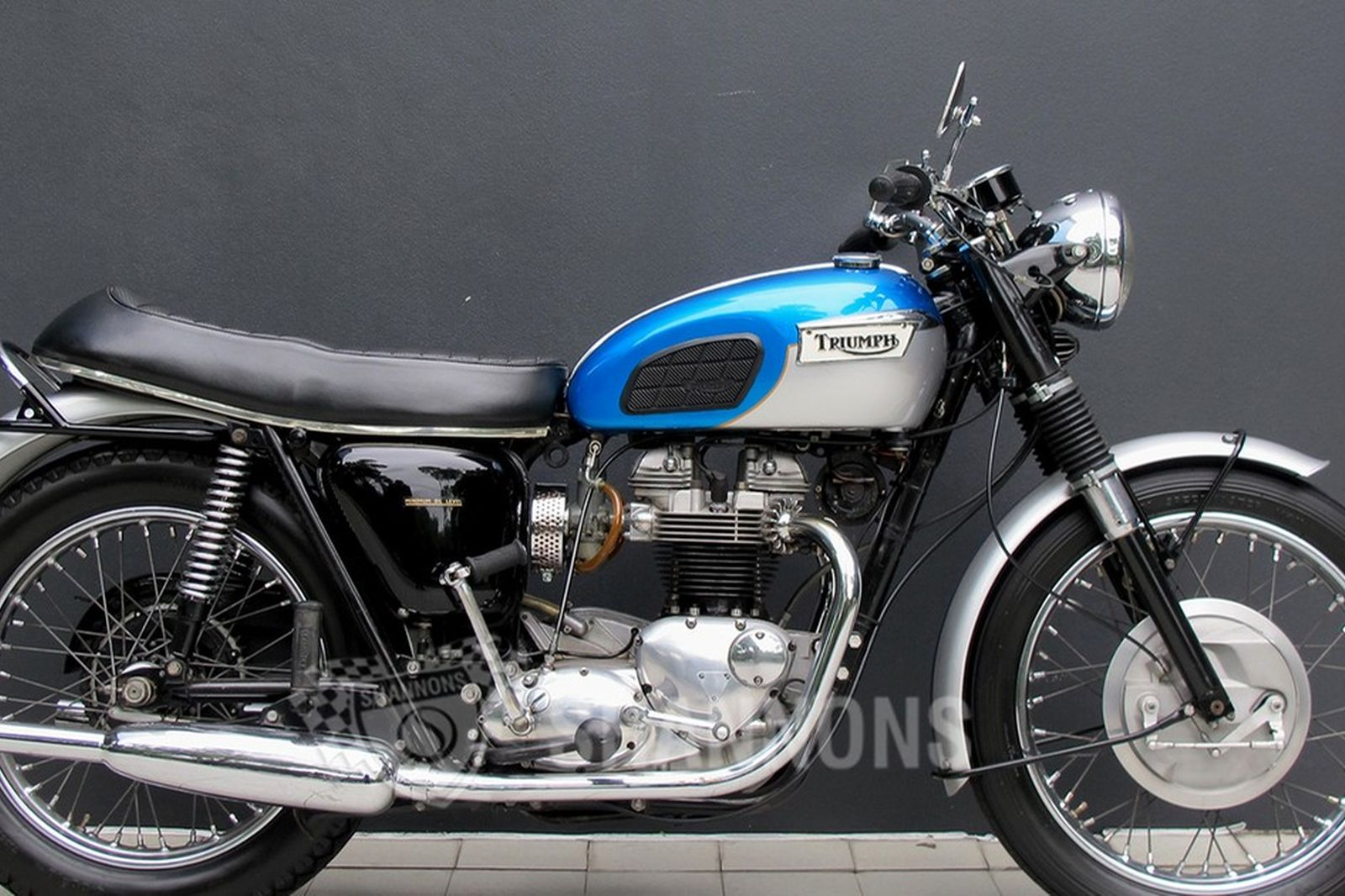 Sold Triumph Tr6 Tiger 650cc Motorcycle Auctions Lot Ai Shannons