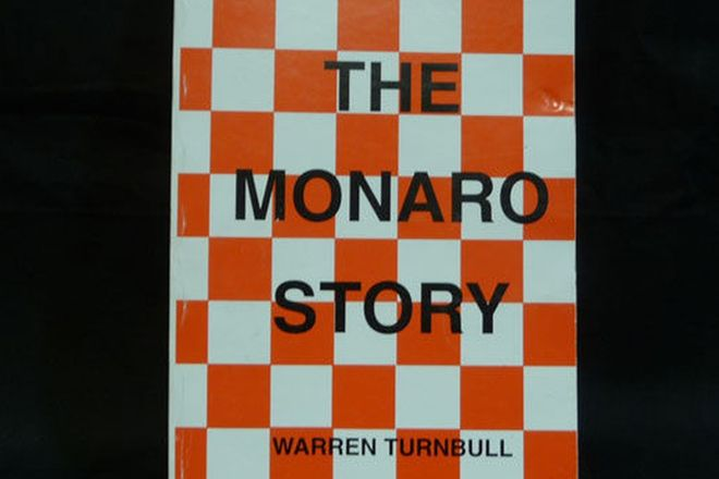 Book - The Monaro Facts & Story by Ben Stewart & Warren Turnbull