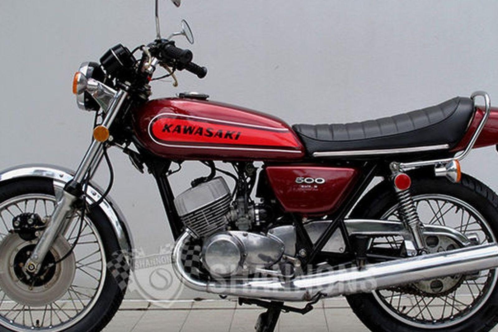 Kawasaki H1e 500 Motorcycle Auctions Lot Ae Shannons