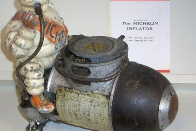 Compressor - Michelin Man with copy of Sales Brochure
