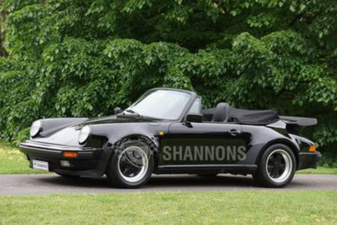 Porsche 911 Carrera 3.2 'Wide Body' Convertible