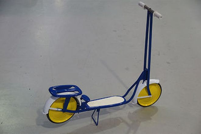 Vintage Child's Scooter (Restored)