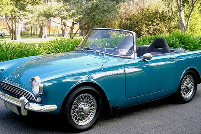 Sunbeam Alpine Series 1 Convertible