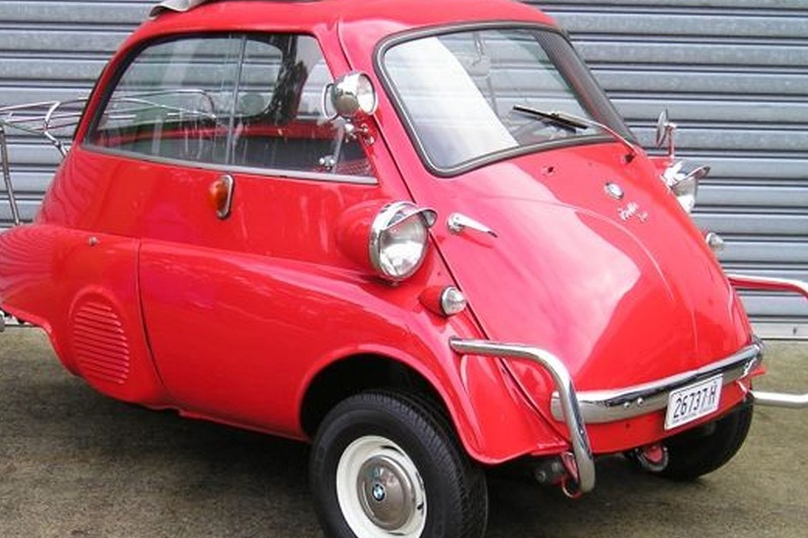 Sold Bmw Isetta 300cc 3 Wheeler Lhd Auctions Lot 9 Shannons