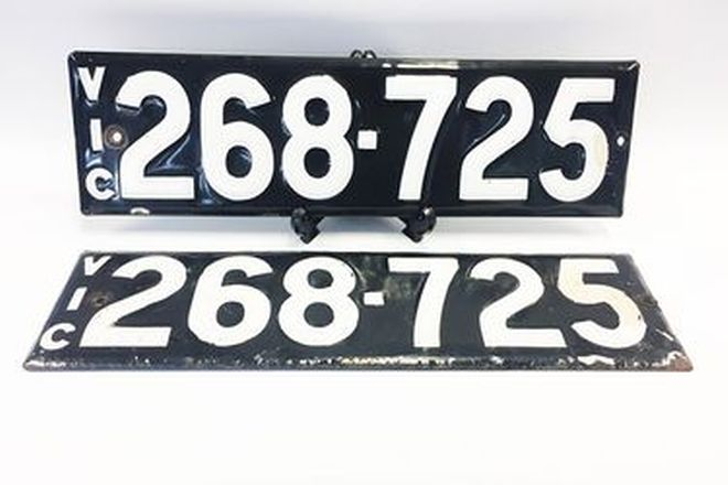 Victorian Heritage Plate 268.725