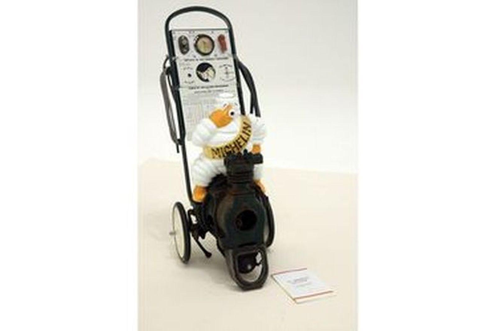 Compressor - c1930s Michelin Man Trolley Compressor (Project)
