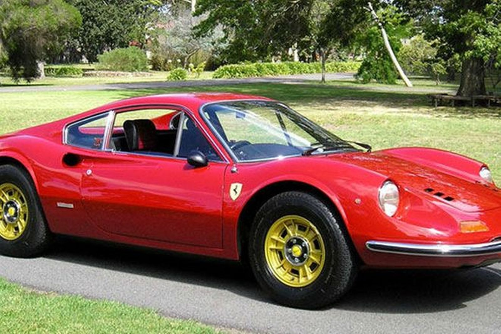 Sold Ferrari Dino 246 Gt Coupe Auctions Lot 46 Shannons