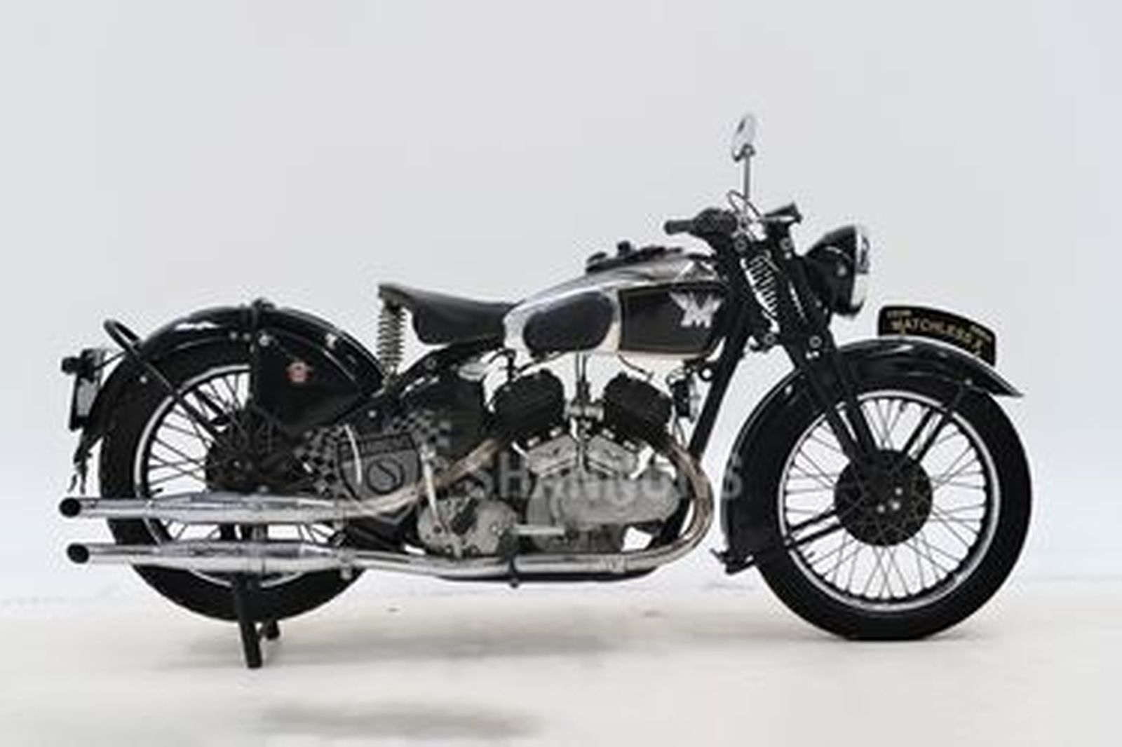 Matchless Model X Solo Motorcycle