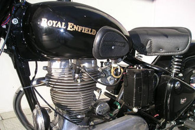 Royal Enfield 350cc Solo Motorcycle