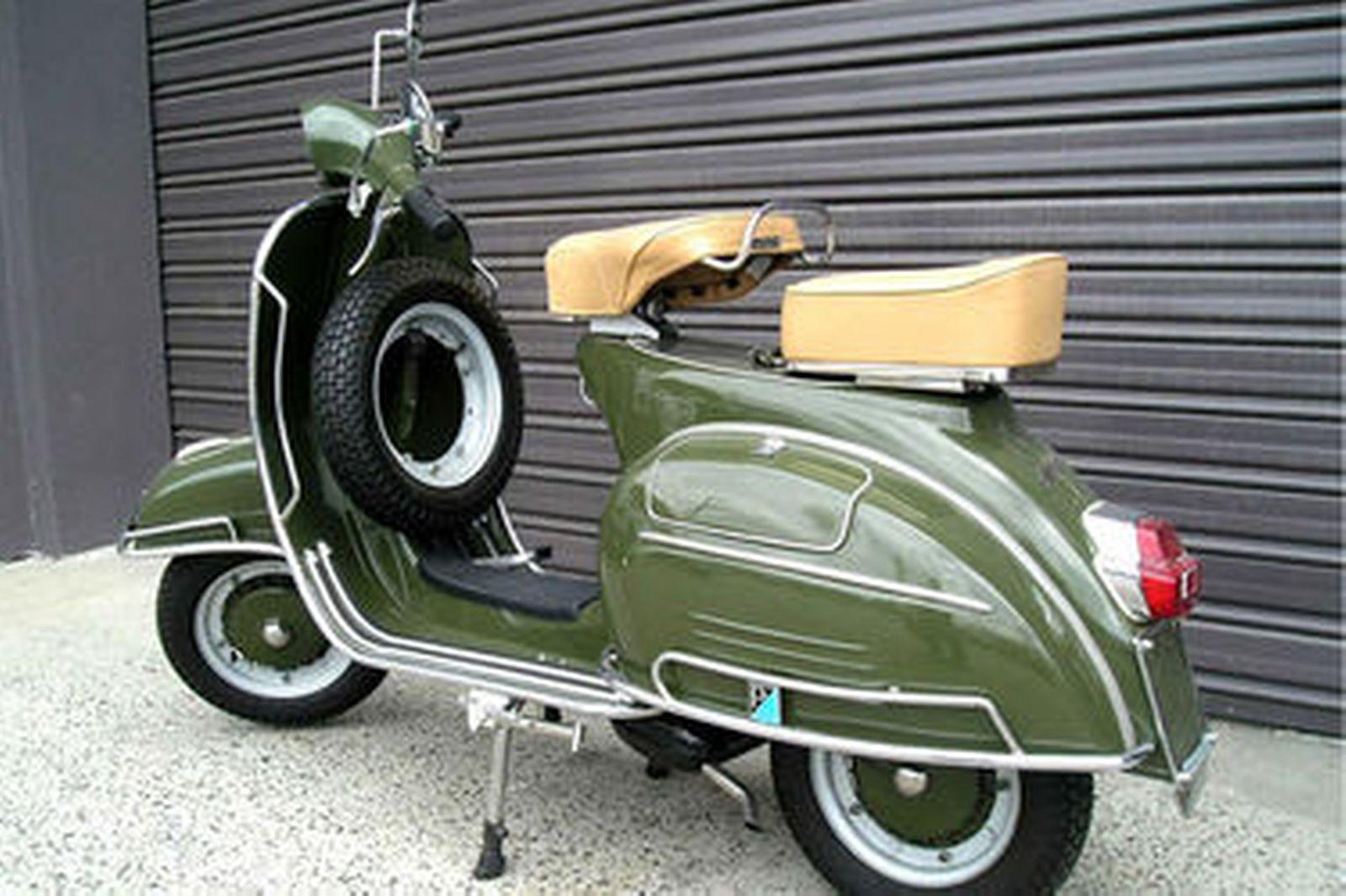 Sold  Vespa 150 Super Motorscooter Auctions - Lot 1