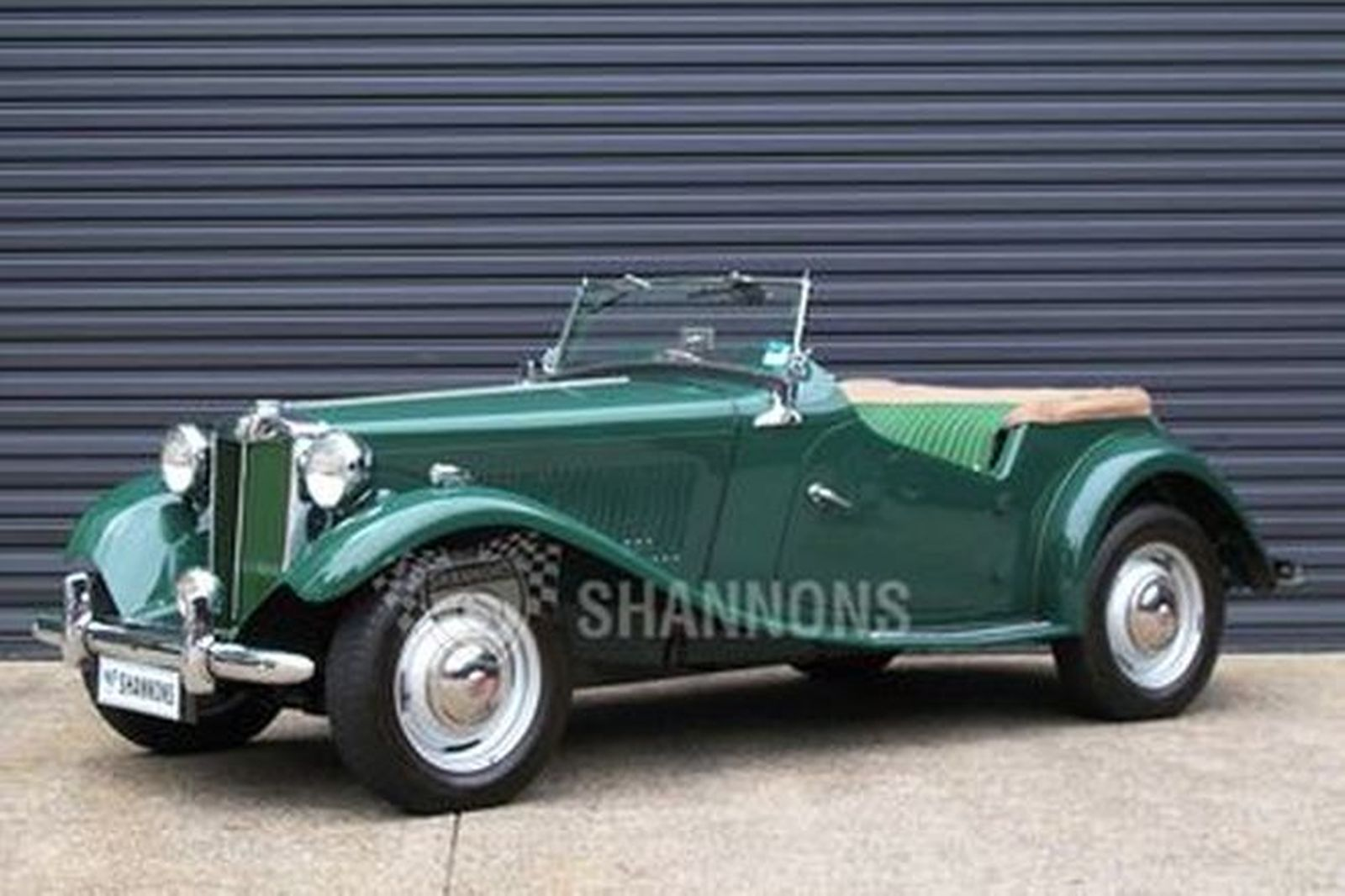 sold mgtd roadster auctions lot 11 shannons Cadillac V-16 mgtd roadster