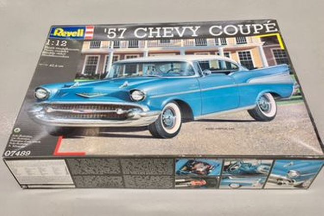 1957 Chevy Coupe Model  1:12 scale Revell Kit