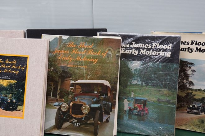 Books - Set of 4 x James Flood Motoring Books (Editions 1-4)