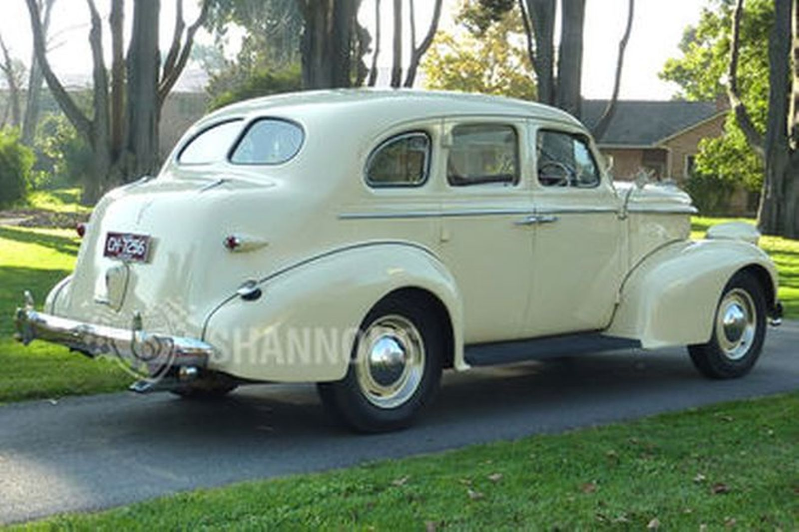 Sold oldsmobile sedan auctions lot 57 shannons for 1938 oldsmobile 2 door sedan
