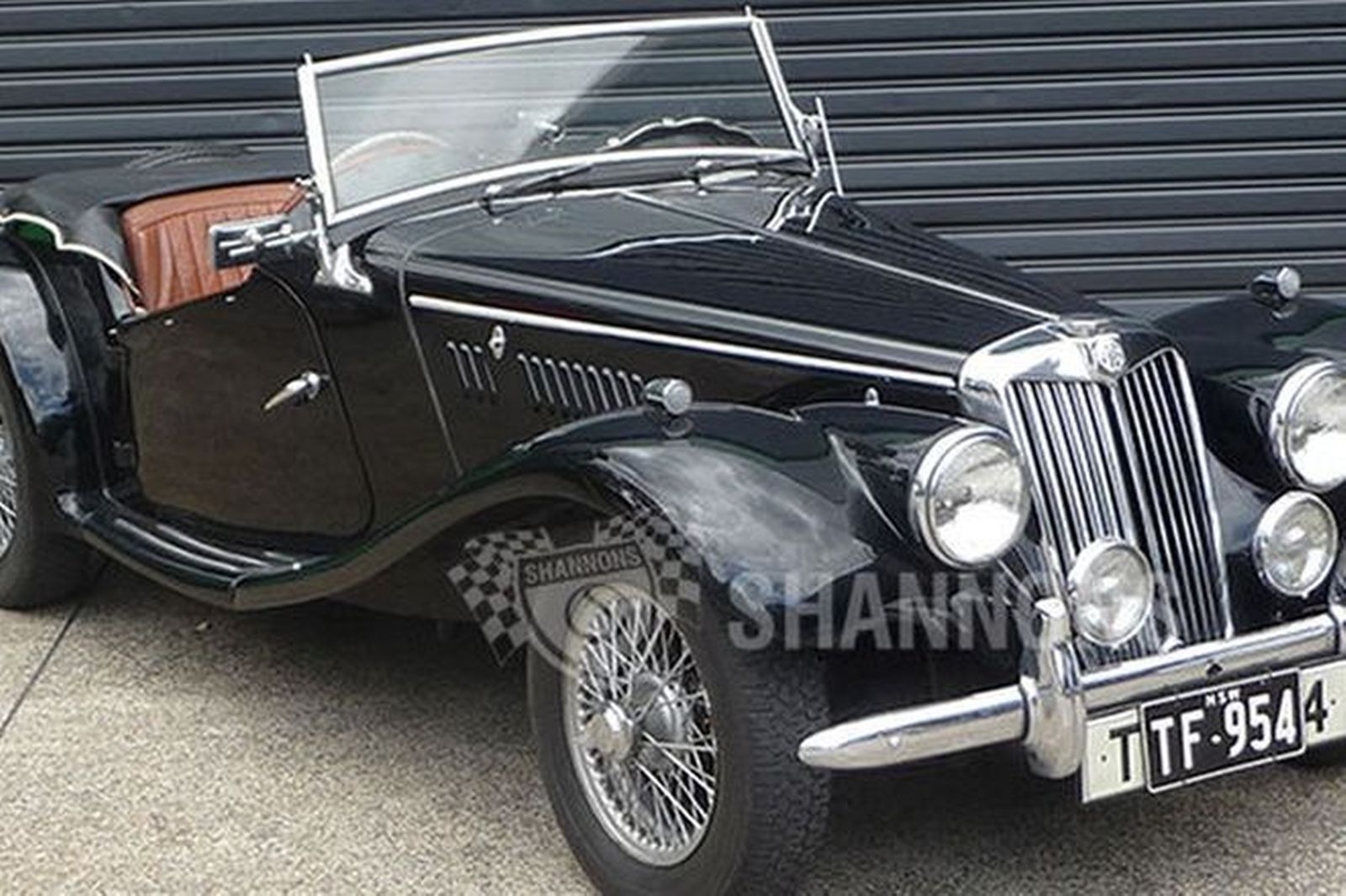 Sold mg tf 1250 roadster auctions lot 17 shannons mg tf 1250 roadster vanachro Gallery