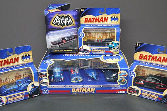 Model Cars - Selection of Batman Cars