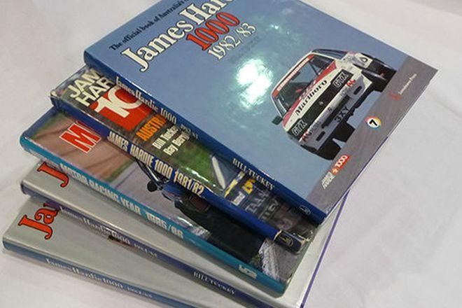 Books x 10 - Bathurst Year Books - James Hardie 1000 (1981-1988)(2x repeats)