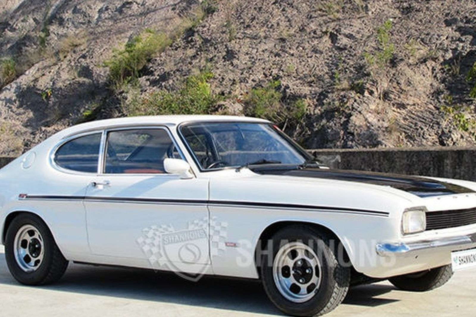 Sold Ford Capri V6 Gt Coupe Auctions Lot 28 Shannons