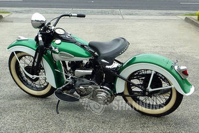 Harley-Davidson W Solo Motorcycle