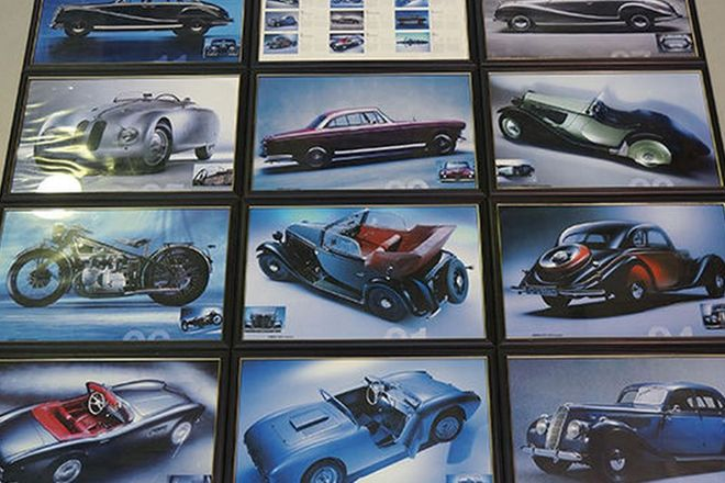 Framed Prints - 12 x Various Model BMW's