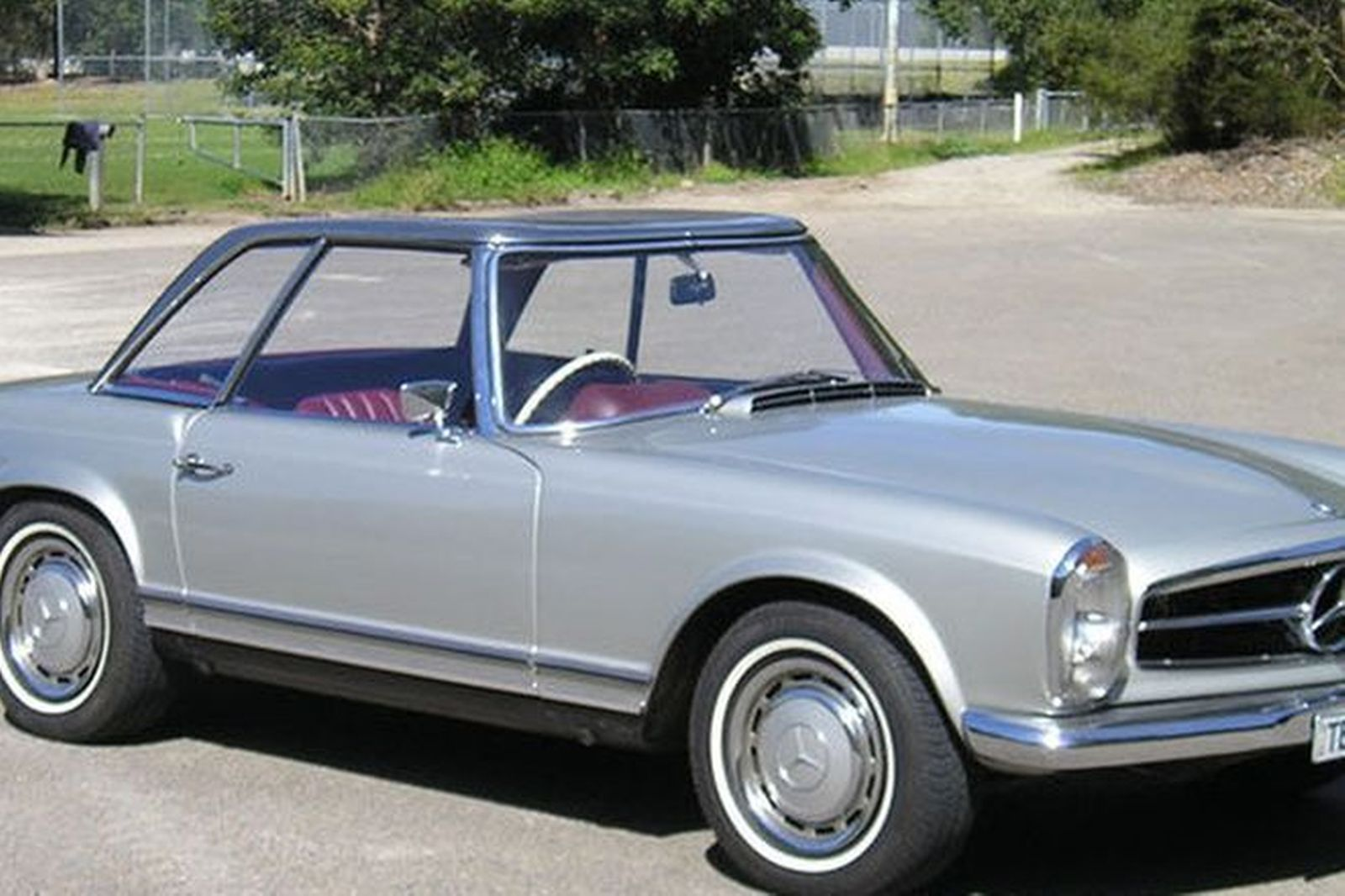 Sold Mercedes Benz 280sl Coupe Convertible Auctions Lot