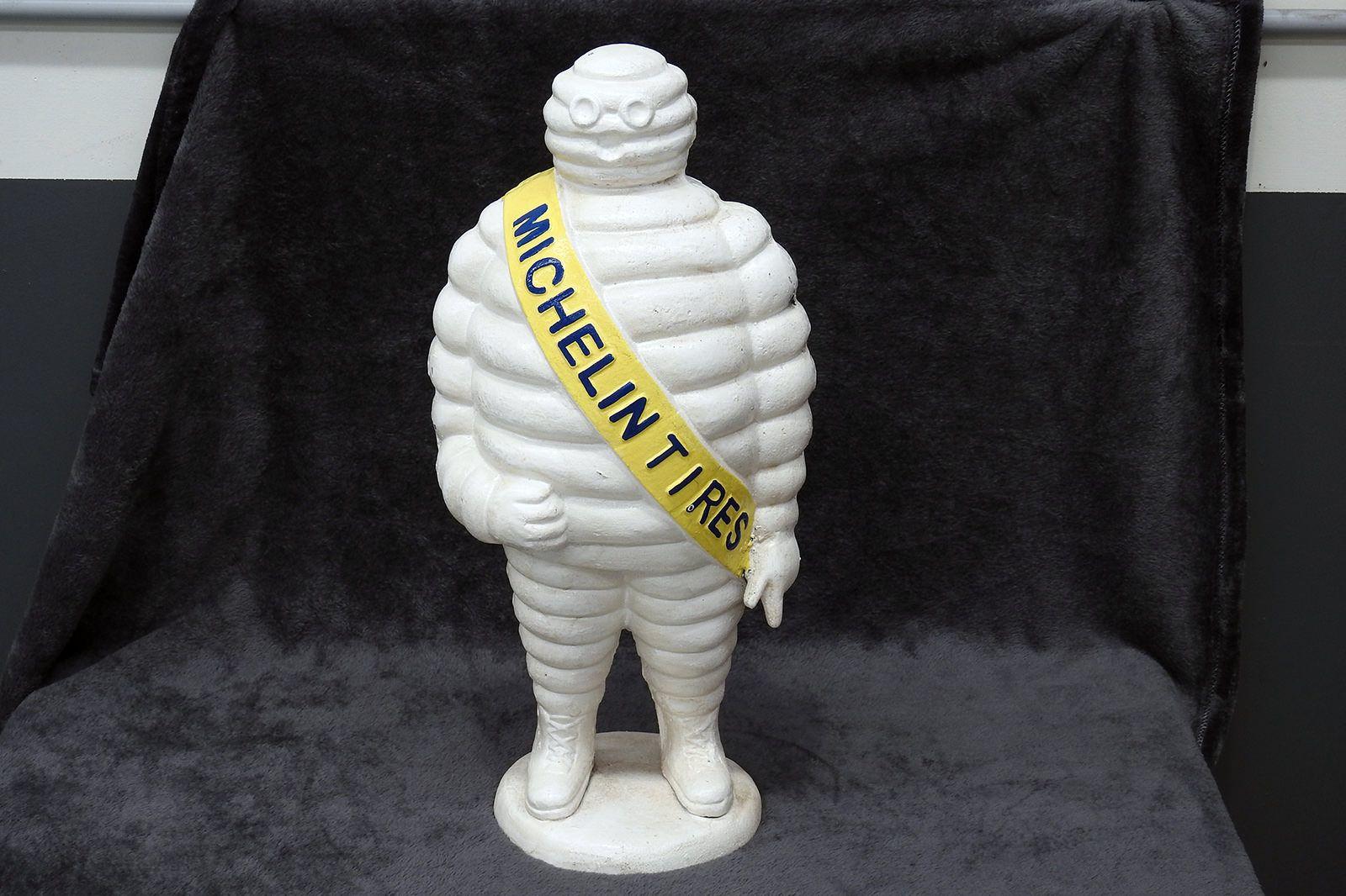 Cast Iron Michelin Man (58h x 12w cm)