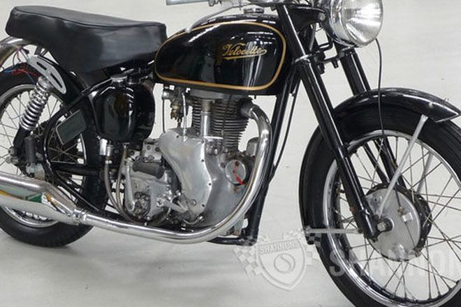 Velocette Mac 350cc Solo Motorcycle
