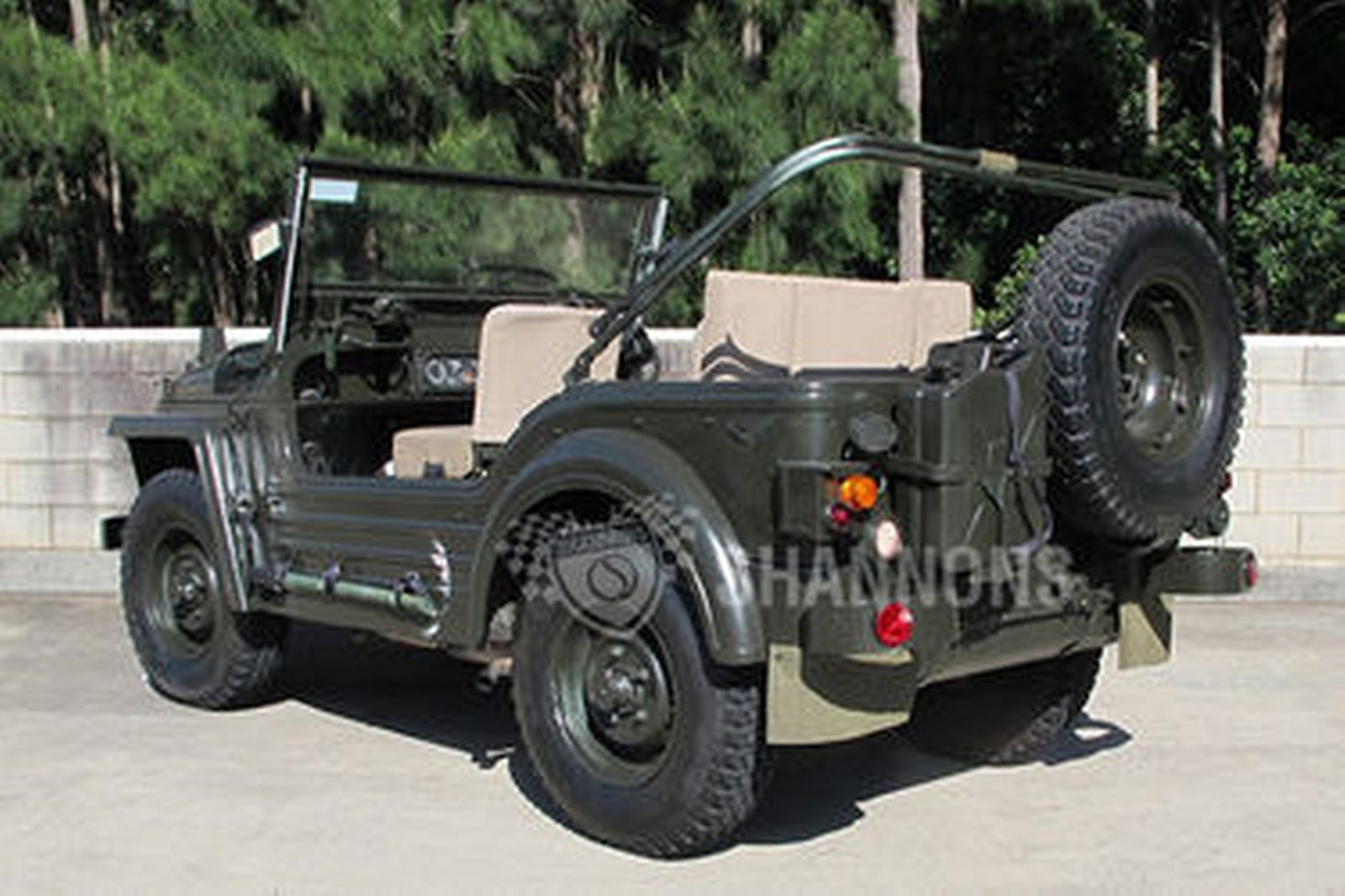 Sold Austin Champ 4x4 Military Vehicle Auctions Lot 5