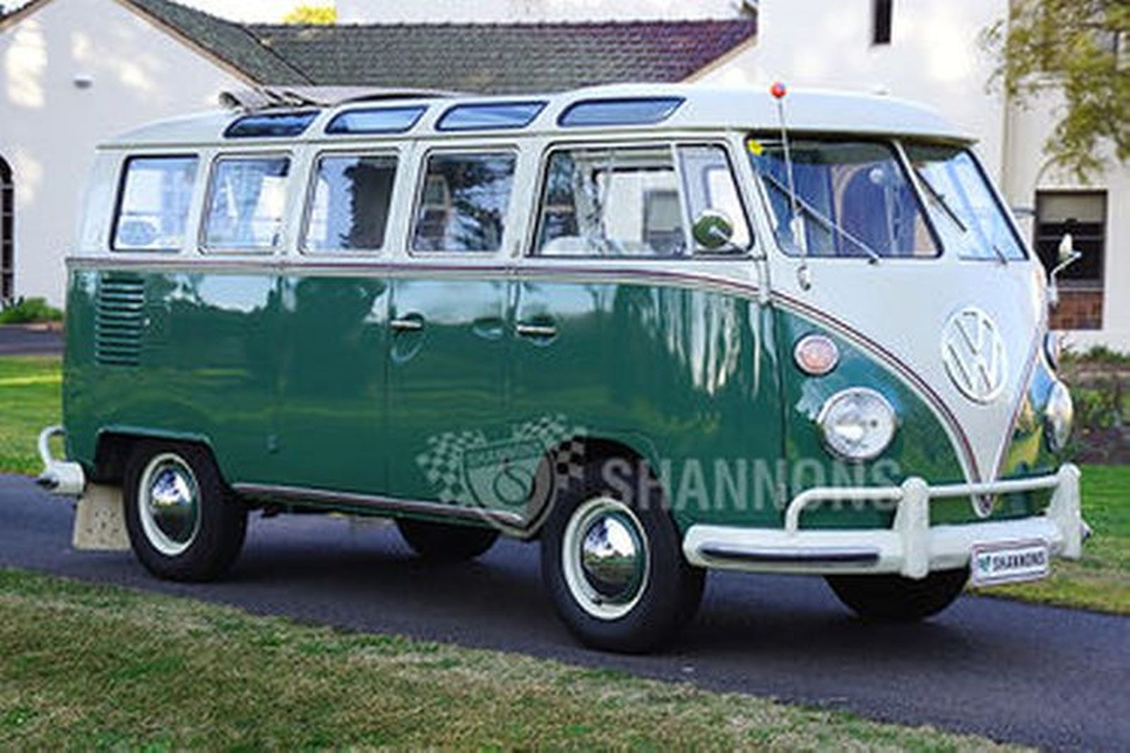 sold volkswagen  window samba wagon lhd auctions lot  shannons