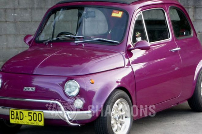 Fiat 500F Coupe