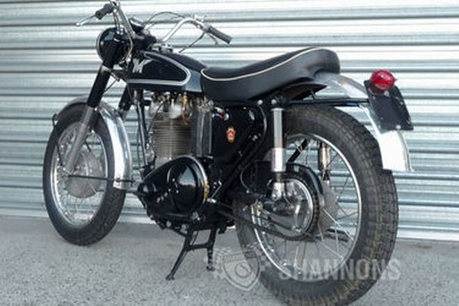 Matchless G80CS Motorcycle