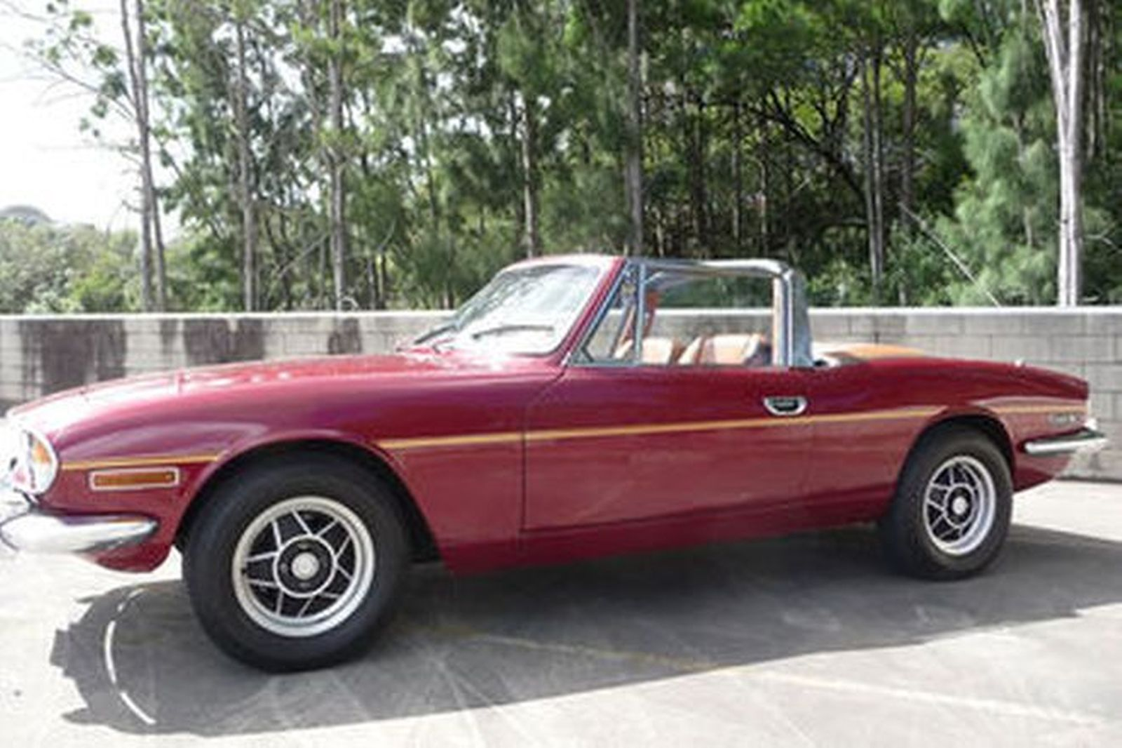 Sold Triumph Stag Convertible Auctions Lot 3 Shannons