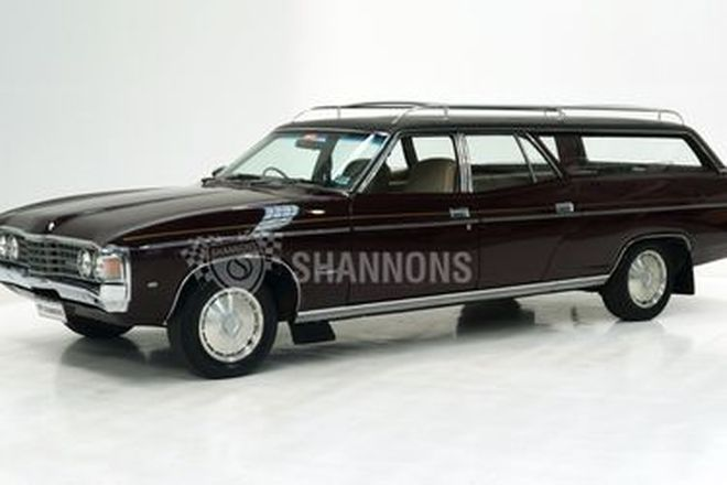 Ford XB Fairmont Hearse Wagon