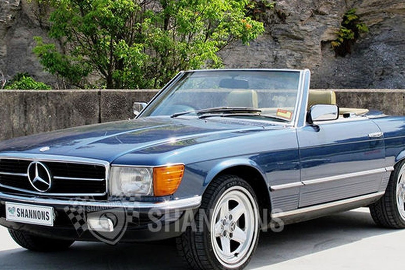 mercedes benz 380sl convertible auctions lot 16 shannons